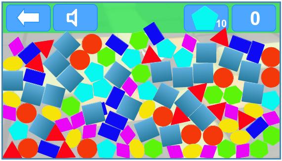 juego para aprender figuras geométricas infantil