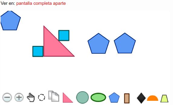 Aprende figuras geométricas jugando